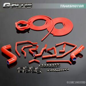 Silicone Radiator Hose Vacuum Hose Kit For Subaru Impreza Gdb New Age 02 07