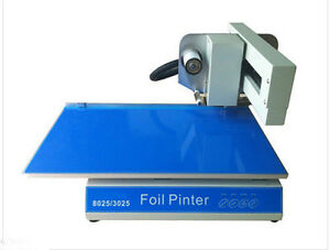 3025 Digital Printer Foil Printer For Book Cover Menu Calendar Nonwoven Bag A