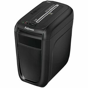 Fellowes 4606001 60cs 10 sheet Paper Credit Card Shredder With Safety Features