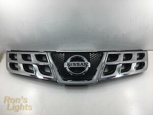 2010 2015 Nissan Rogue Front Grille W Emblem Oem Pre Owned