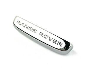 Range Rover Sport Smart Key Remote Fob Side Chrome Bezel Genuine