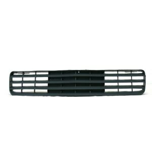 Am New Front Grille For 88 92 Chevrolet Camaro Std Rs Black Plastic