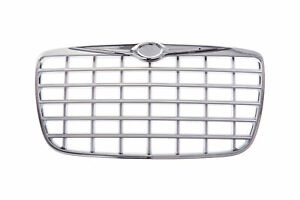 Am New Front Grille For Chrysler 300 Chrome Ch1200275 4805926ac