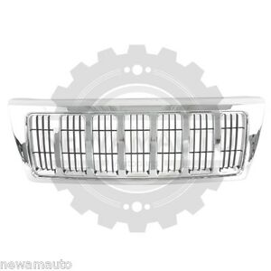 Am New Front Grille For Jeep Grand Cherokee Ch1200298 Xb92tstac