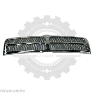 Am Front Grille For Dodge Ram 2500 ram 3500 ram 1500 Chrome Ch1200178 55076550ab