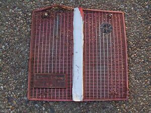 Case David Brown 990 995 1210 1212 Tractor Livedrive 6 Grill Damaged As is