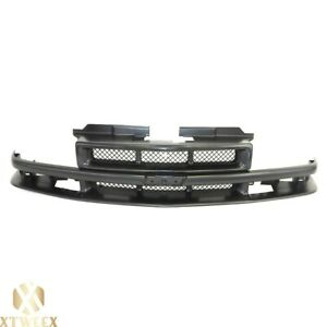 New Front Grille For Chevrolet Blazer S10 Gm1200426 12474941