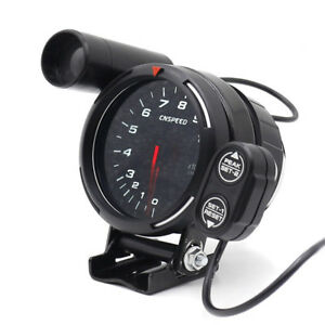 Tachometer Gauge Kit Led 3 5 Car Meter With Shift Light Stepping Motor Rpm Nice
