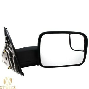 Right Passenger Side Manual Towing Mirror For 02 08 Ram 1500 03 09 2500 3500