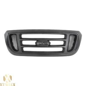 Black Front Grille Grill W Gray Mesh For 04 05 Ford Ranger Pickup Truck New