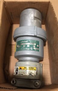 New Appleton 60 Amp 4 Pole 4w Pin Sleeve Explosion Proof Connector Acp6044bcrs