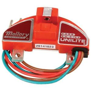 Mallory Distributor Ignition Module 605 Unilite For Mallory Distributors