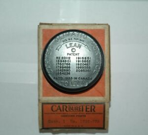 1953 170y 77s Carter 2034s 2 Barrel Choke Cover Coil Nash Statesman Nos New
