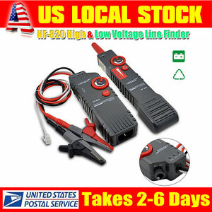 High low Voltage Underground Wall Wires Fault Locator Cable Finder Tools Black