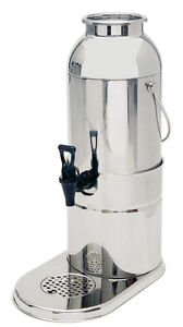 Piazza Effepi Dispenser Milk With Ice Buckets Stainless Steel