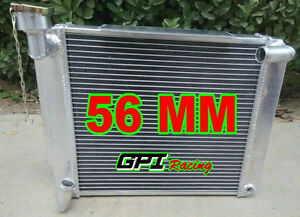 56mm Custom Aluminum Radiator For Mg Mga 1500 1600 1622 Deluxe Mt 1955 1962