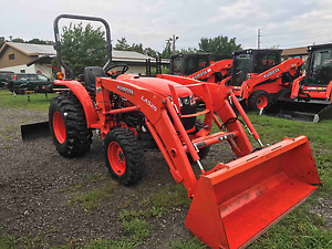 Used Kubota L2501d With Loader 6 Month Warranty And Financing Available
