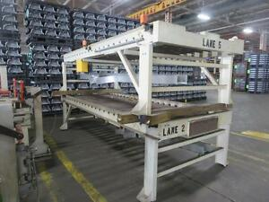 1 Section Power Powered Conveyor 11 5 Feet 48 Roller