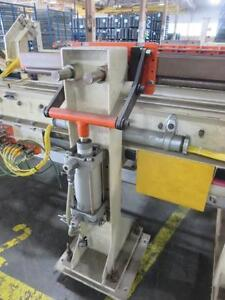 65 Feet Section Power Powered Conveyor 15 Feet 48 Roller With Actuators