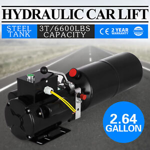 Car Lift Auto Repair Shop Hydraulic Top Power Unit 220v 50hz New