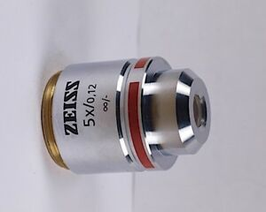Zeiss A plan 5x M27 Thread Infinity Microscope Objective