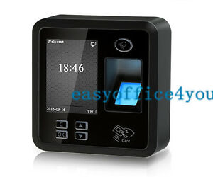 Small Size And Elegant Bio Fingerprint Access Control time Attendance Terminal