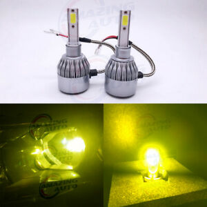 New 2x H3 6000k Super White 100w Cree Led Headlight Bulbs Kit Fog Driving Light