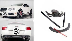 Carbon Fibre Kit For Bentley Continental Gt 2011 2017