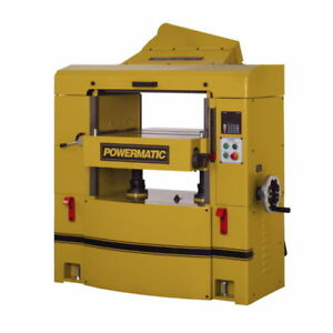 New Powermatic 1791303 Wp2510 Planer 15hp 3ph 230 460v Helical Head 25
