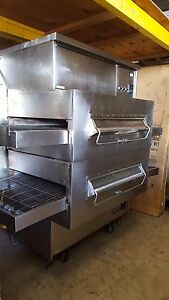 Used Ps360 2 Middleby Marshall Dbl Deck Gas Conveyor Oven Includes Free Shipping