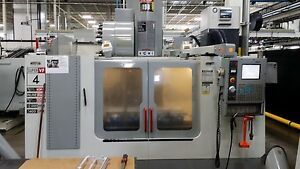 Used Haas Vf 4ss Cnc Vertical Machining Center 50x20 Mill 4th Ready 12k Rpm 2003