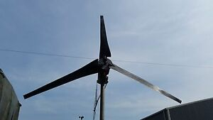 Wind Turbine Generator 48 Volts Dc Power 1500watt Add To Solar Generator System