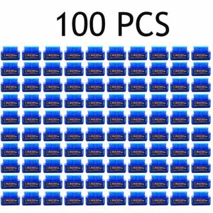 100x Mini Obd2 Obdii Elm327 V2 1 Android Bluetooth Adapter Auto Scanner Lot Ma
