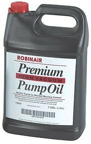 Lot Of 6 Robinair Premium High Vacuum Pump Oil Gallon Part Rob 13204