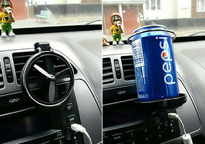 New Folding Air Conditioning Auto Car Drink Holder Beverage Bottle Car Frame