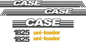 Case 1825 Replacement Decals Sticker Decal Kit Ns