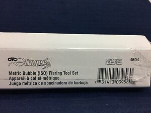 Stinger Bubble Flaring Tool Kit I s o Otc 4504 Brand New