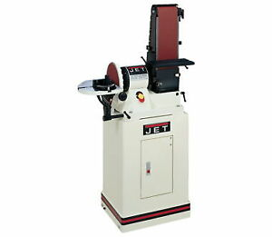 NEW Jet 708597K 6 In. x 48 In. Belt  9 In. Disc Sander