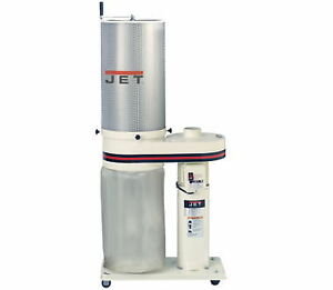 New Jet 708642ck Dust Collector With 1 Micron Canister Filter 1 Hp 650cfm