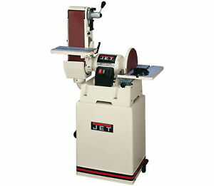 NEW Jet 708598K 6 In. x 48 In. Belt  12 In. Disc Sander