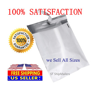 White Poly Mailer Self Sealing Shipping Envelopes Bags Plastic Mailing Bags