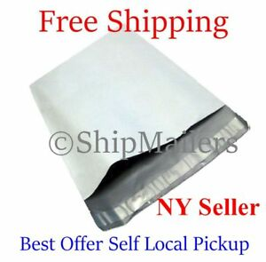 Poly Mailers Envelope Shipping Self Seal Privacy Shield Plastic Bags Choose Size