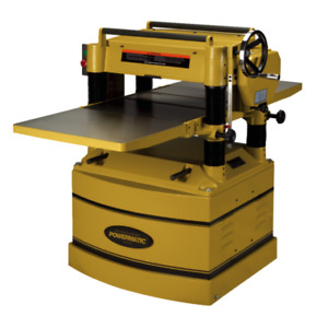 New Powermatic 1791316 209hh 20 Planer With Byrd Helical