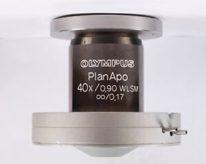 Olympus Planapo 40x Wlsm Water Immersion Microscope Objective