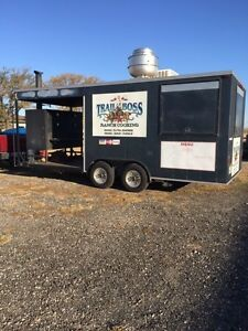 Smoker Concession Trailer