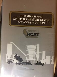 Hot Mix Asphalt Materials Mixture Design Construction