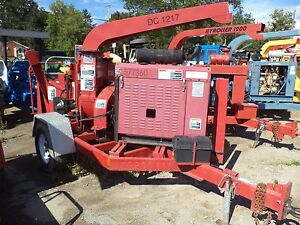 2007 Altec 17 Chipper Cat Diesel hdy Feed Low Hours One Qwner
