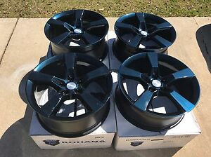 20 Camaro Oem Blue Wheels Rims 2010 2016 Factory Rare Ss Rs