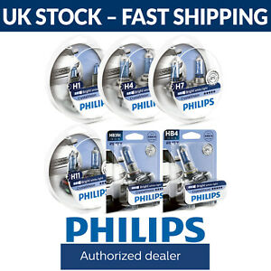 Philips Crystal Vision Car Bulbs H1 H4 H7 H11 Hb3 Hb4 Fittings