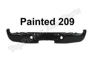 Painted 209 Black Sand Pearl Rear Step Bumper Face Bar For 2005 2015 Tacoma